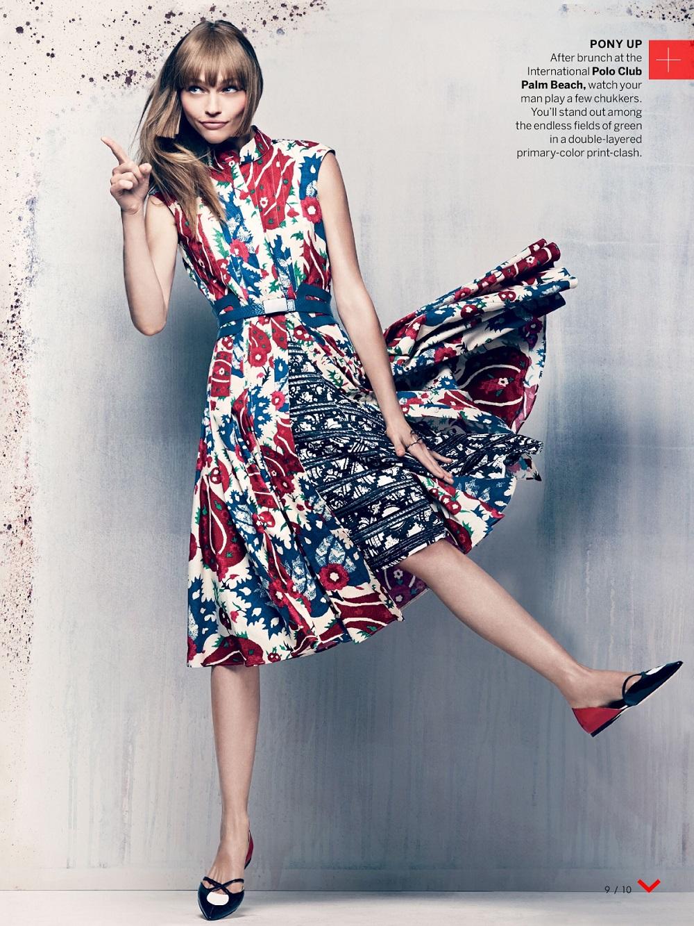 Craig McDean / Sasha Pivovarova / Xiao Wen Ju / Vogue US / November 2013
