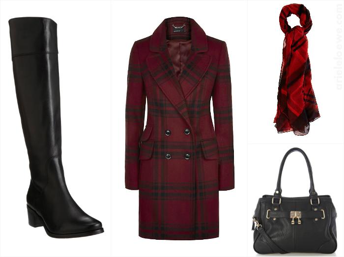 A Way To Wear Karen Millen Check Coat
