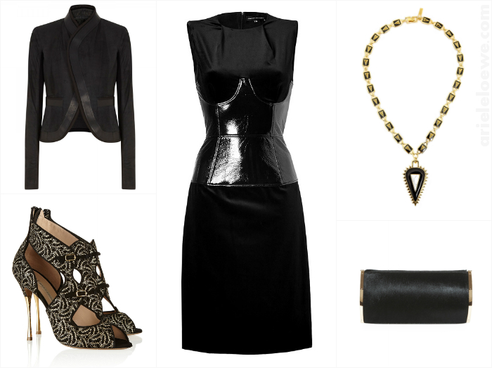 A Way To Wear Jonathan Saunders Kati Corseted Velvet Column Dress