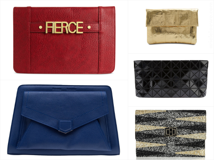 Ariele's Friday 5 Clutch Bags To Hold On To Featuring BCBGeneration, Proenza Schouler, Bao Bao Issey Miyake, Angel Jackson and Anya Hindmarch