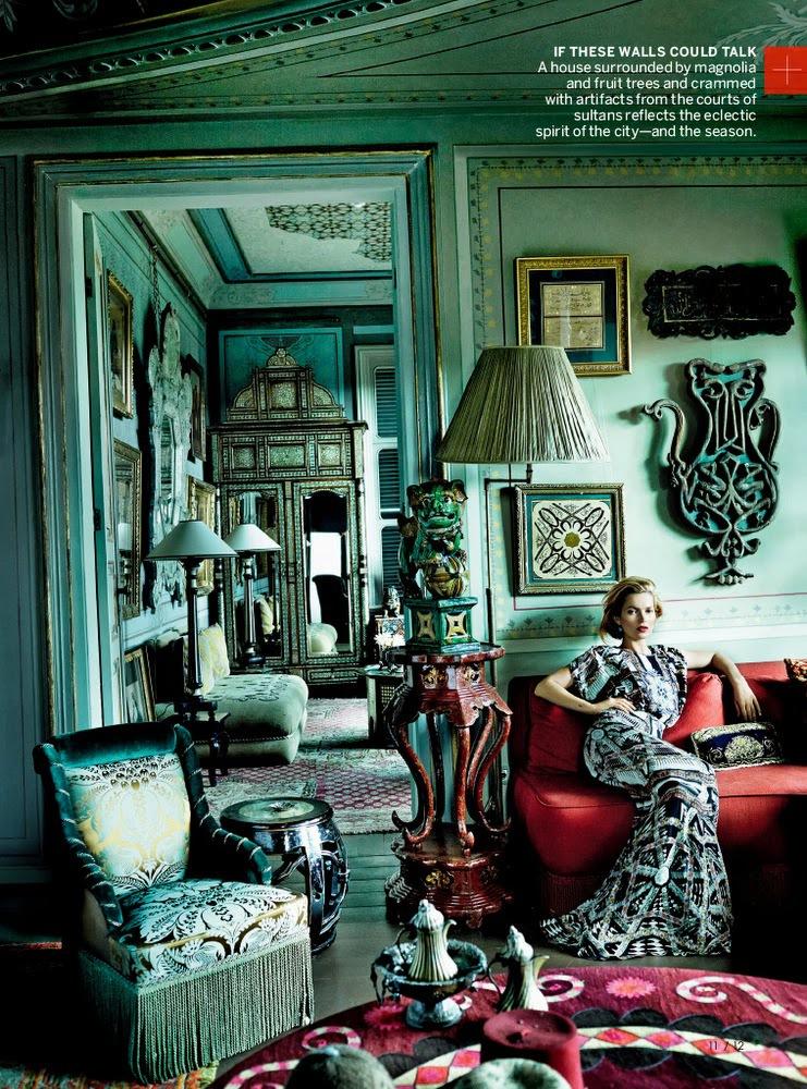 Mario Testino / Kate Moss / Chiwetel Ejiofor / Vogue US