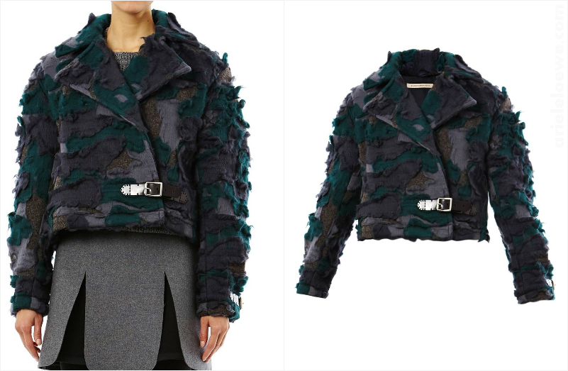 Just One Thing: Christopher Kane Wool Camo Biker Jacket
