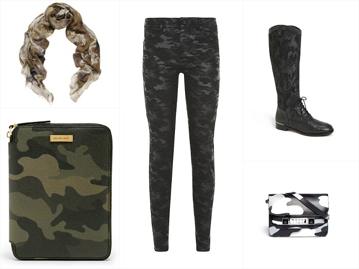 Camouflage Chic