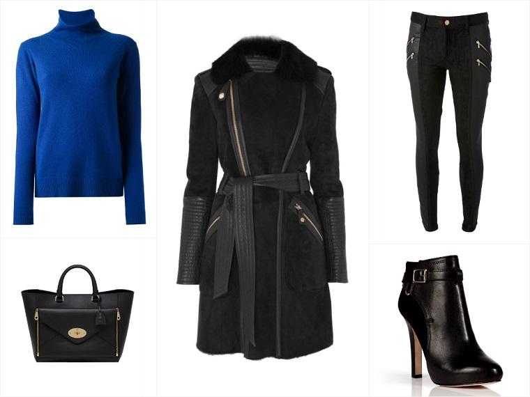 A Way To Wear Temperley London Odele Sheepskin Coat