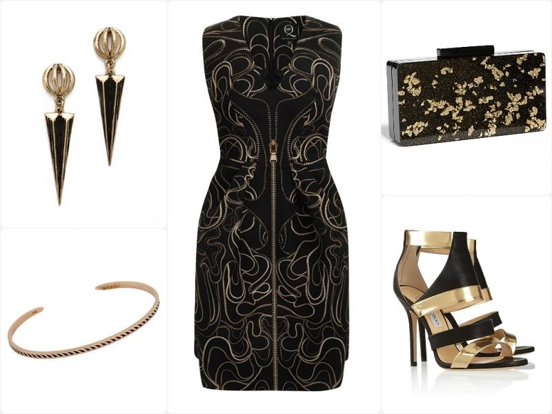 A Way To Wear McQ Alexander McQueen Kaleidoscope Zip Party Dress