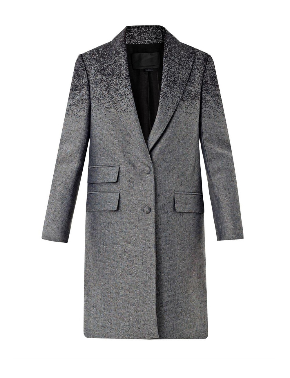 ALEXANDER WANG    Degradé Single-breasted Coat   currently 50% off