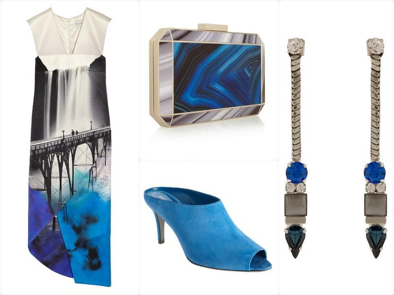 A Way To Wear: Mary Katrantzou San Fran Printed Dress