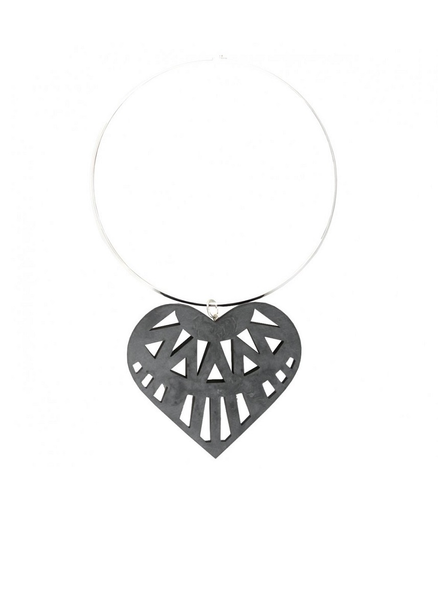 HOLLY FULTON AW13 Hearty Perspex Choker