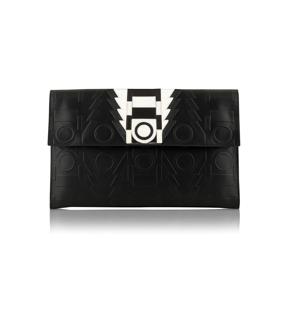 HOLLY FULTON FOR RADLEY AW13 Ranya Large Flapover Clutch Bag