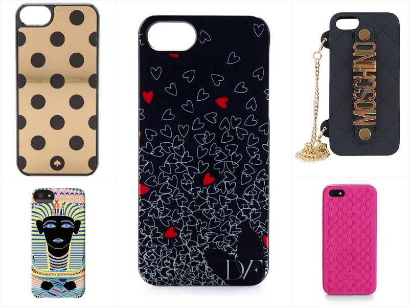 Stylish & Unique iPhone Cases Featuring Diane von Furstenberg, Kate Spade, Mara Hoffman, Gucci.