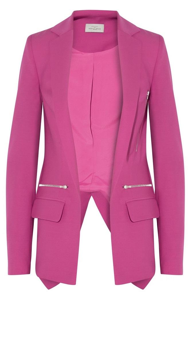 Hutchinson Wool Crepe Blazer