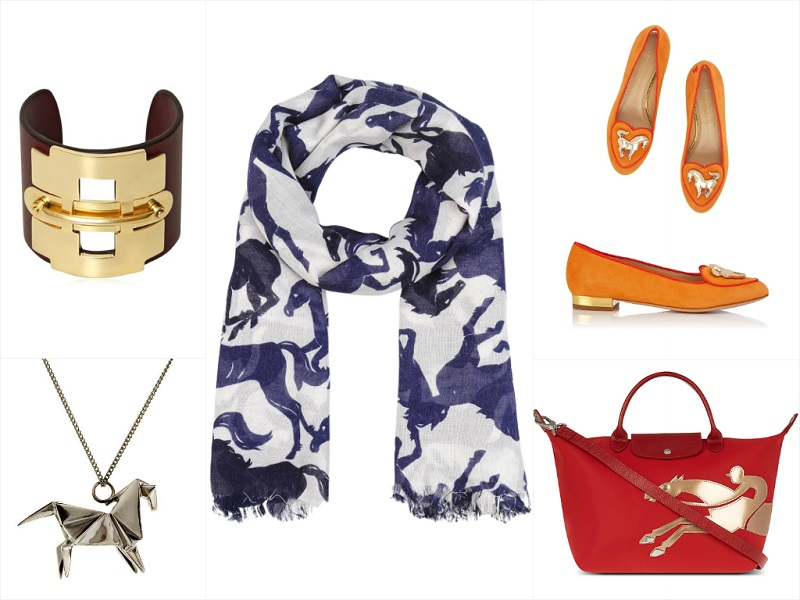 Ariele's Friday 5: Chinese New Year Of The Horse Featuring Stella McCartney, Charlotte Olympia, and Longchamp.