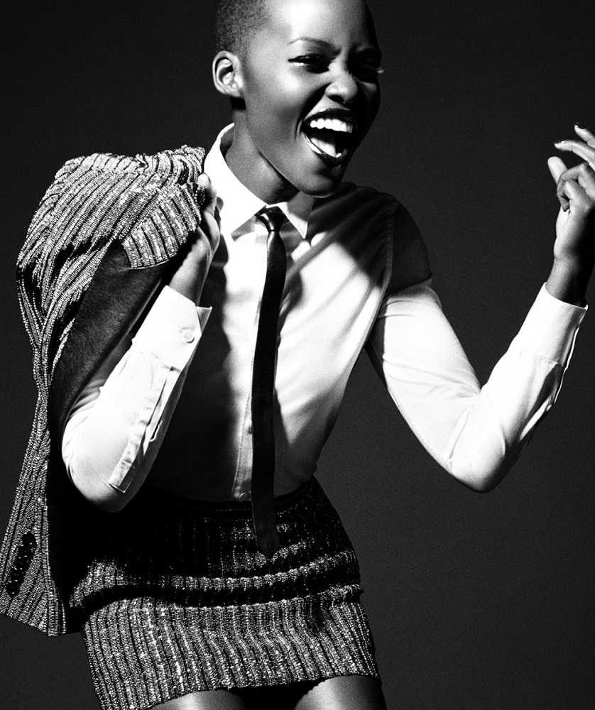 Tom Munro / Lupita Nyong'o / Vogue Italia