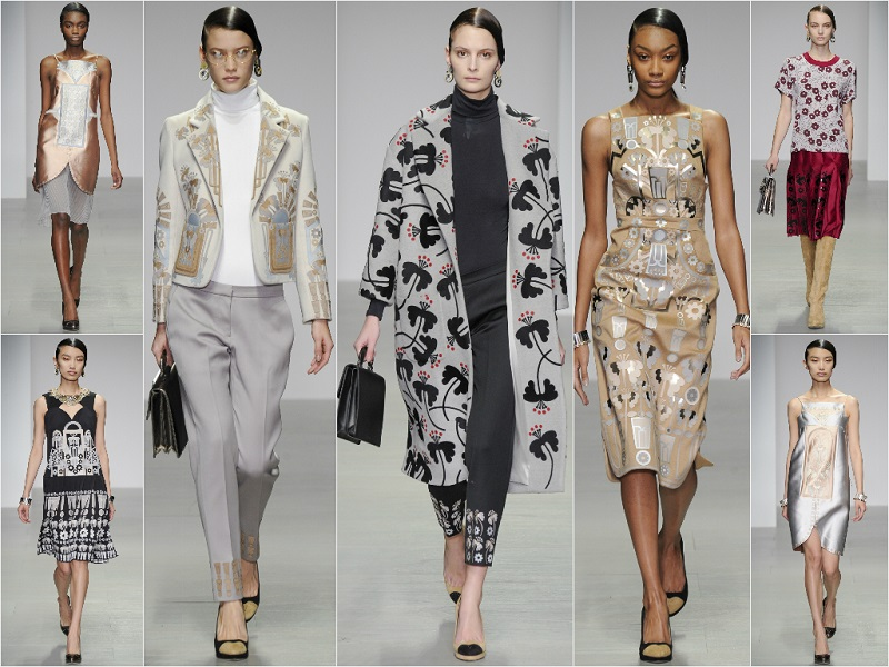 London Fashion Week: Holly Fulton Autumn/Winter 14-15
