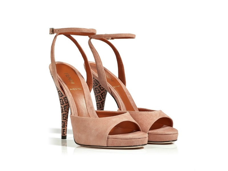 Just One Thing: Fendi Suede Open Toe Sandal