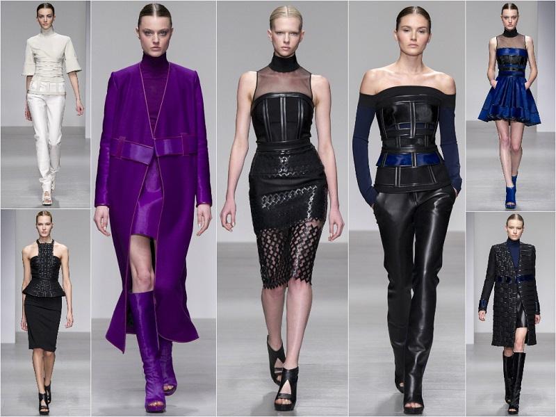 London Fashion Week: David Koma Autumn/Winter 14-15 Collection