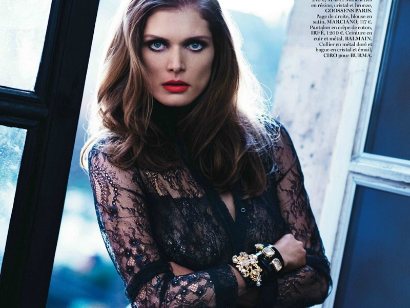 Katja Rahlwes / Malgosia Bela / Vogue Paris / March 2014