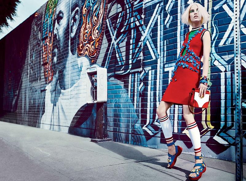 Craig McDean / Suvi Koponen & Joan Smalls / Vogue US / March 2014