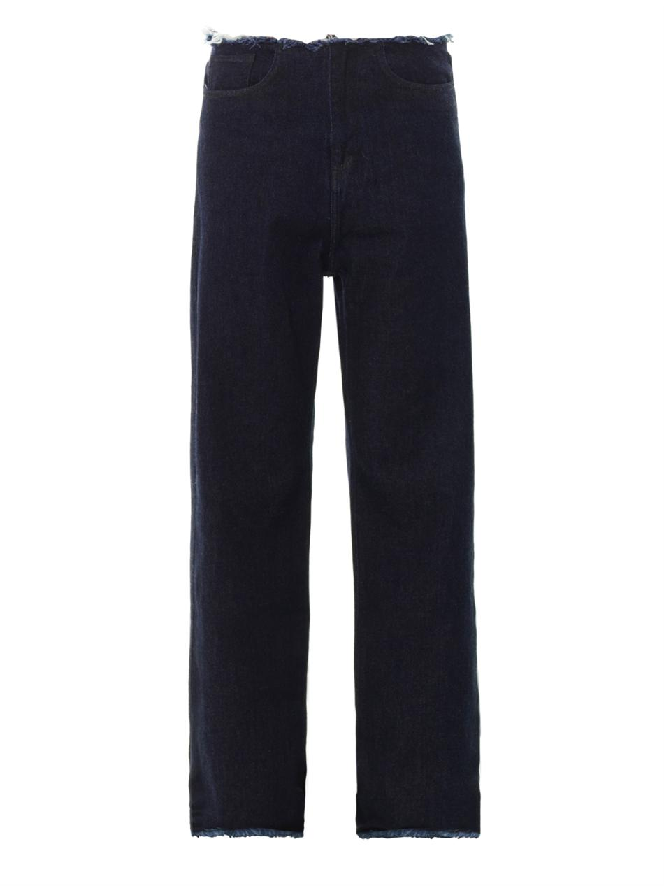 Marques' Almeida    low slung loose fitting boyfriend jeans