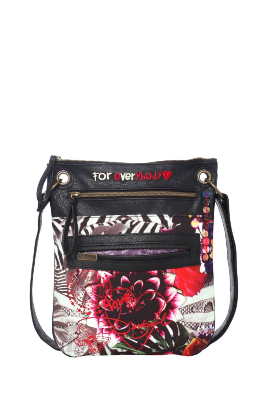 Desigual Bolso Bandolera Jungle Night Bag