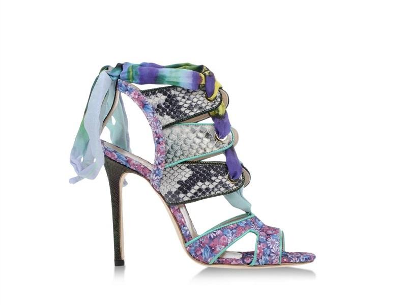 MSGM high heeled sandals