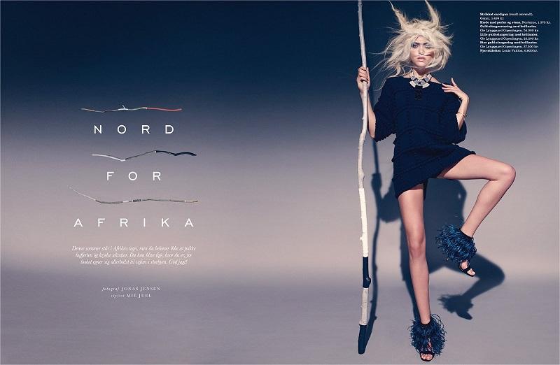 Jonas Jensen / Cora Keegan / Elle Denmark / May 2014