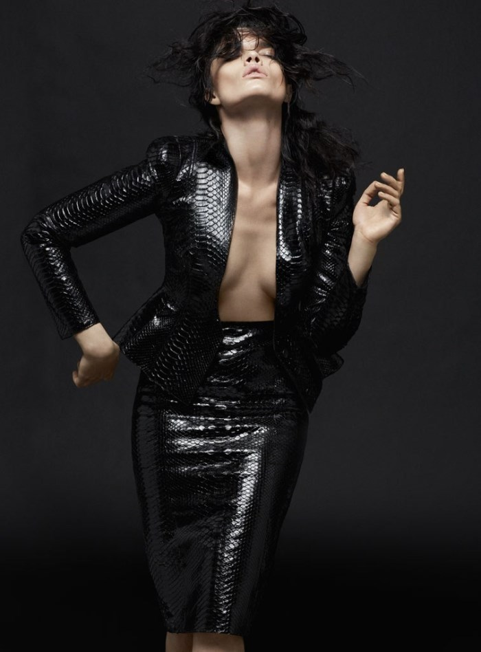 David Roemer / Crystal Renn / S Moda for El Pais / June 2013