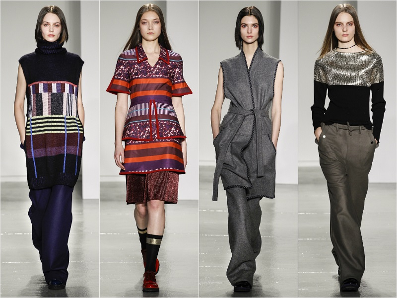 New York Fashion Week: Suno Autumn Winter 2014-15