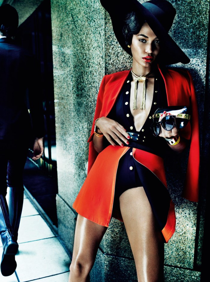 Mario Testino / Joan Smalls / Vogue Brasil / June 2013