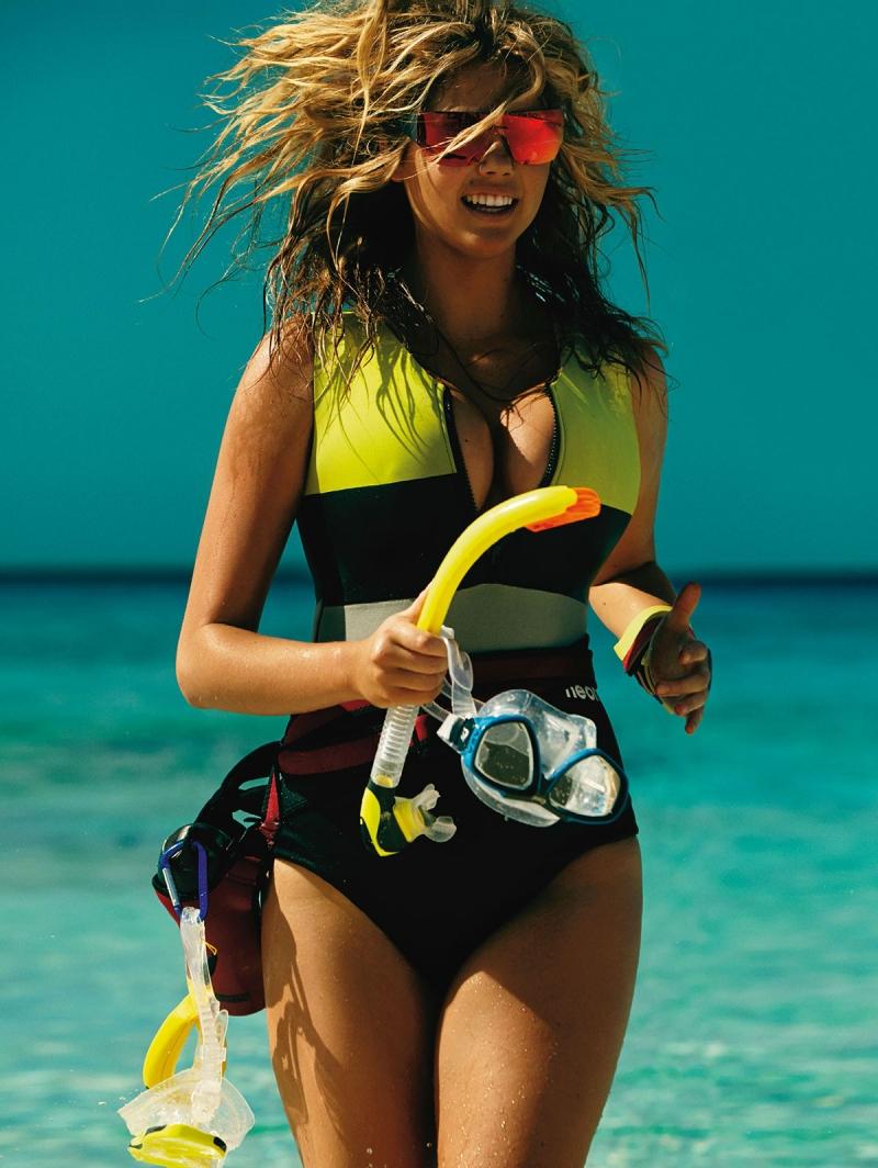 Mario Testino / Kate Upton / Vogue UK / June 2014