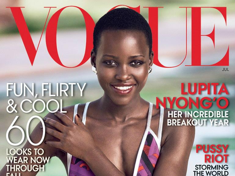 Mikael Jansson / Lupita Nyong'o / Vogue US / July 2014