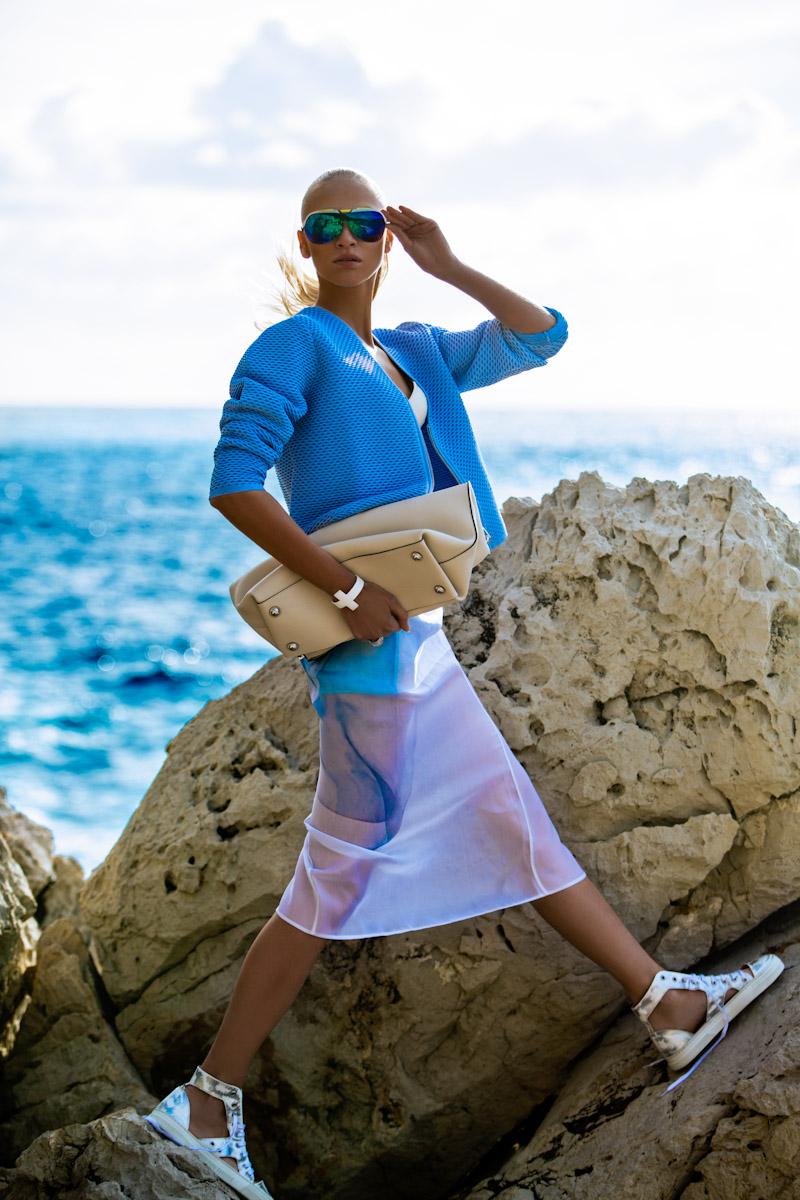 Michelle Du Xuan / Yulia Lobova / Harper's Bazaar Poland / July 2014