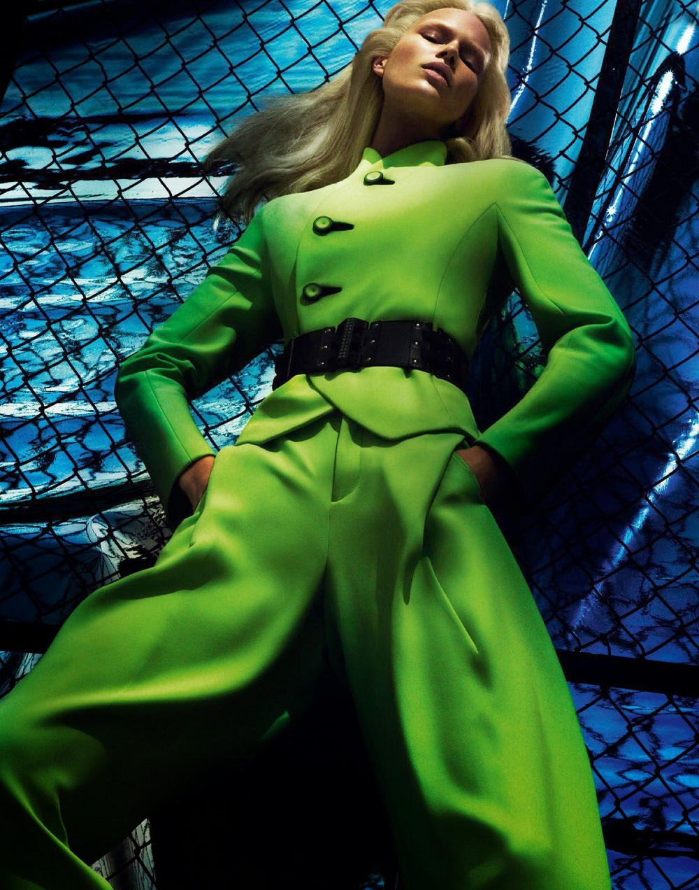 Mert & Marcus / Anna Ewers / Vogue Paris / August 2014