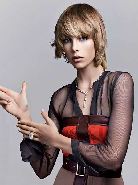 Craig McDean / Edie Campbell / Vogue US / September 2014