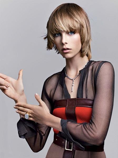 Craig McDean / Edie Campbell / Vogue US / September 2014