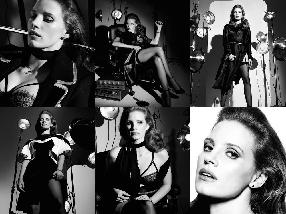 Craig McDean / Jessica Chastain / Interview Magazine / October 2014