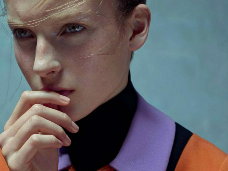 Karim Sadli / Julia Bergshoeff / Vogue UK / January 2015