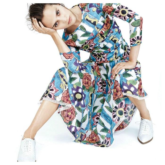 Scott Trindle / Alicia Vikander / Vogue UK / February 2015