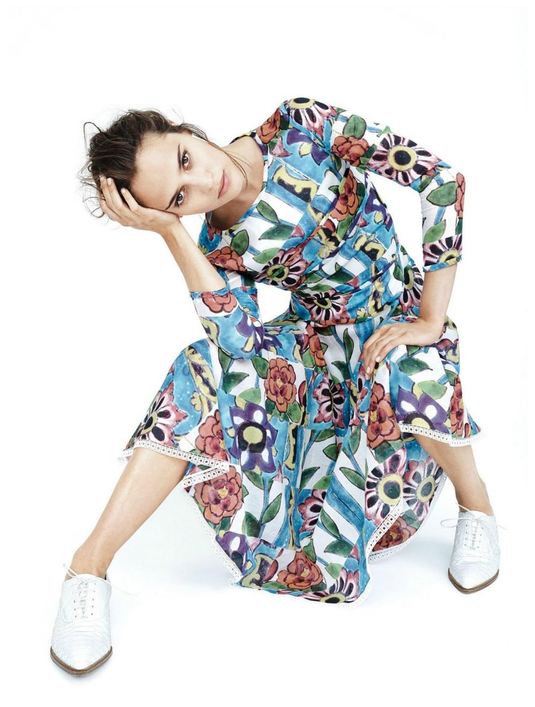 Scott Trindle / Alicia Vikander / Vogue UK