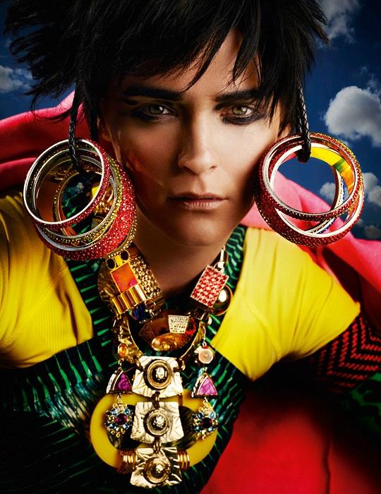 Mario Testino / Carmen Kass / Vogue UK / May 2012