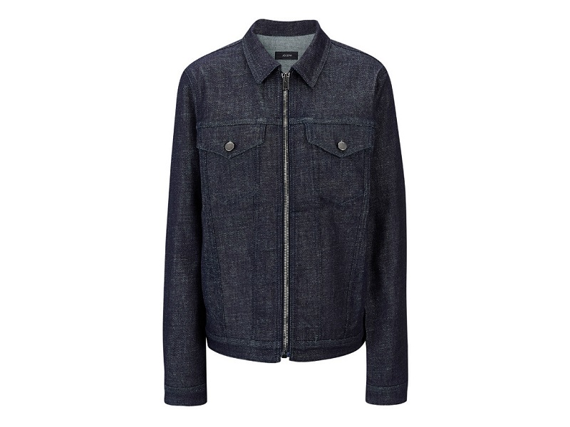 Joseph Raw Denim Eden Zip Jacket currently 50% off