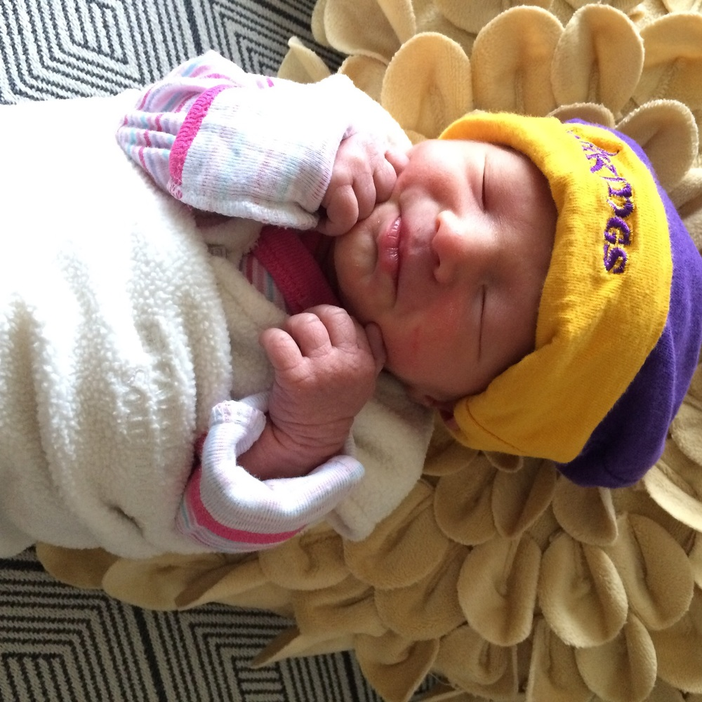 Josie must be good luck based on how well the Vikes played today.