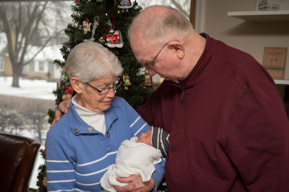 Great Grandma & Grandpa Simmons
