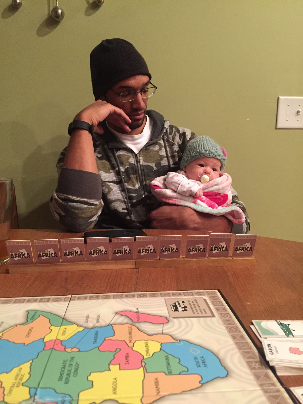 Playing games with Uncle Patei