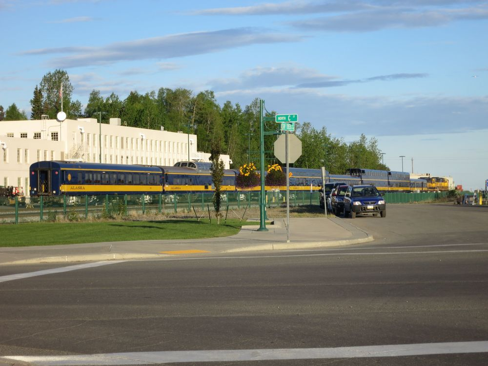 Alaska Railroad  in Anchorage