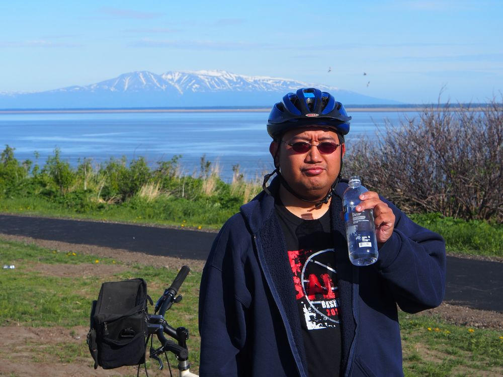 The  Tony Knowles Coastal Trail  is a tourist must. We biked the trail and saw great sights!