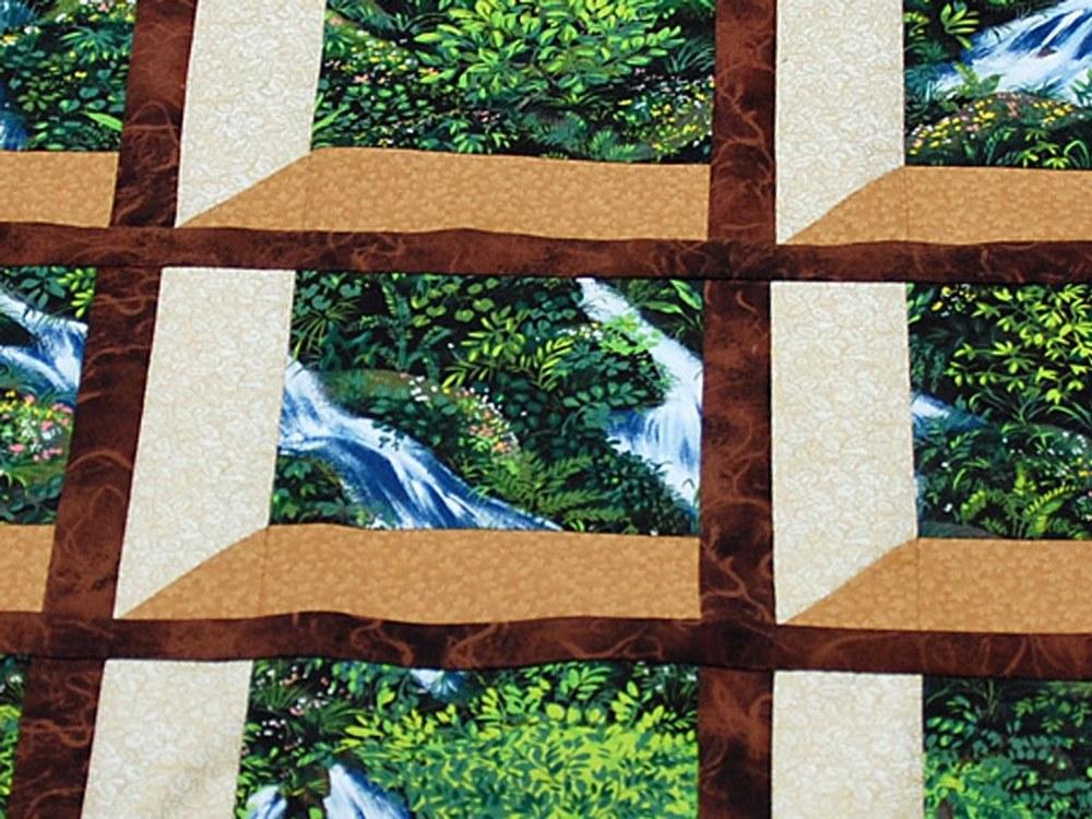 Garden Window quilt