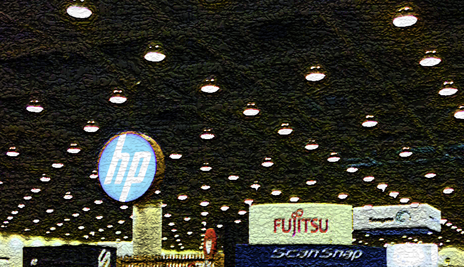 Moscone ceiling by Rich Monroe