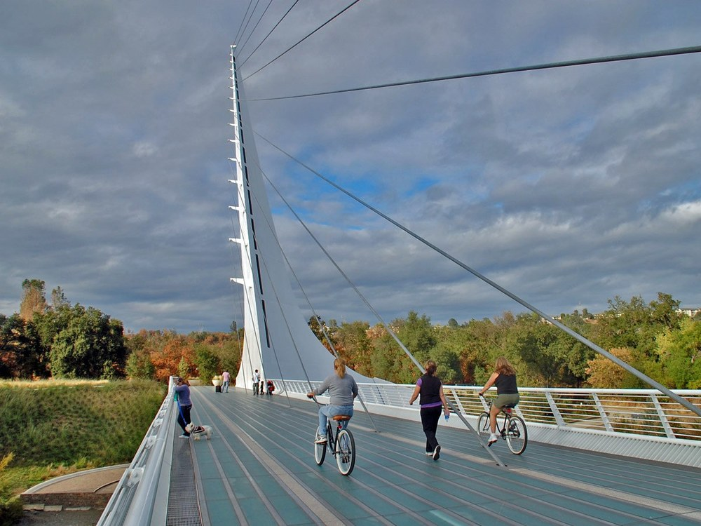 Sundial Bridge Deck