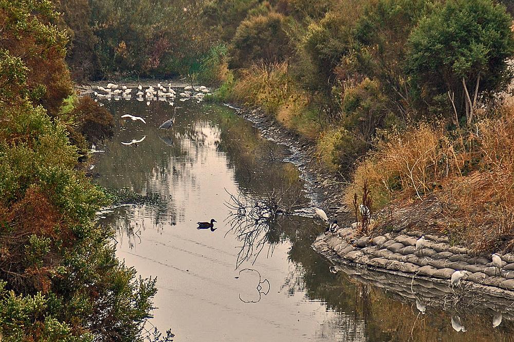 Downstream channel